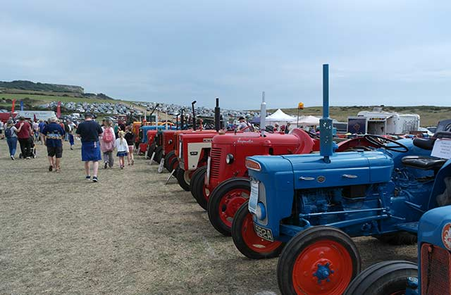 Tractors at Chale Show