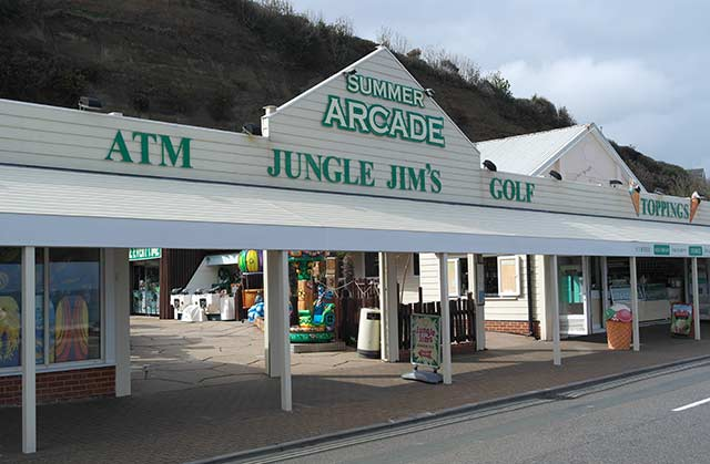 Jungle Jims on Shanklin seafront