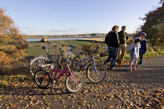 Top Four Island Cycling Attractions