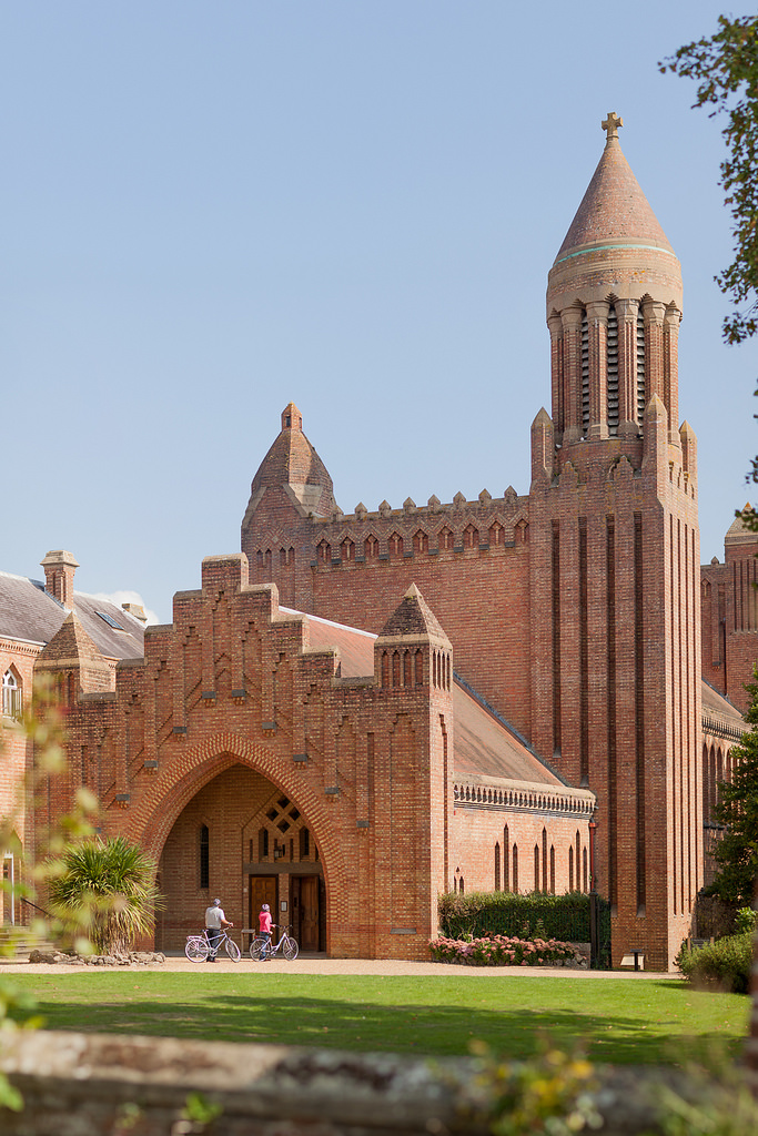 Quarr Abbey - A working monastery