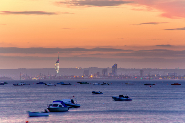 Travelling to the Isle of Wight by Ferry