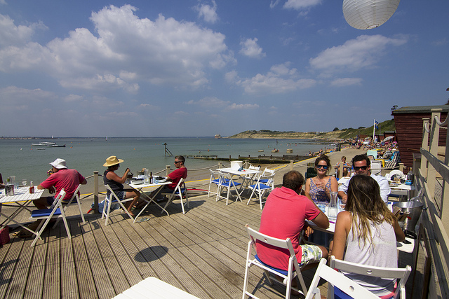 Our Favourite Beach Side Cafes on the Isle of Wight