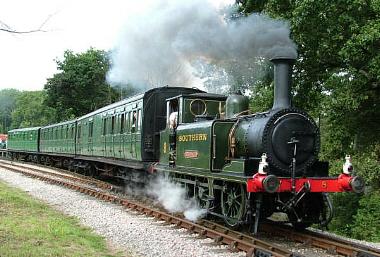 Year round fun on the Isle of Wight Steam Railway