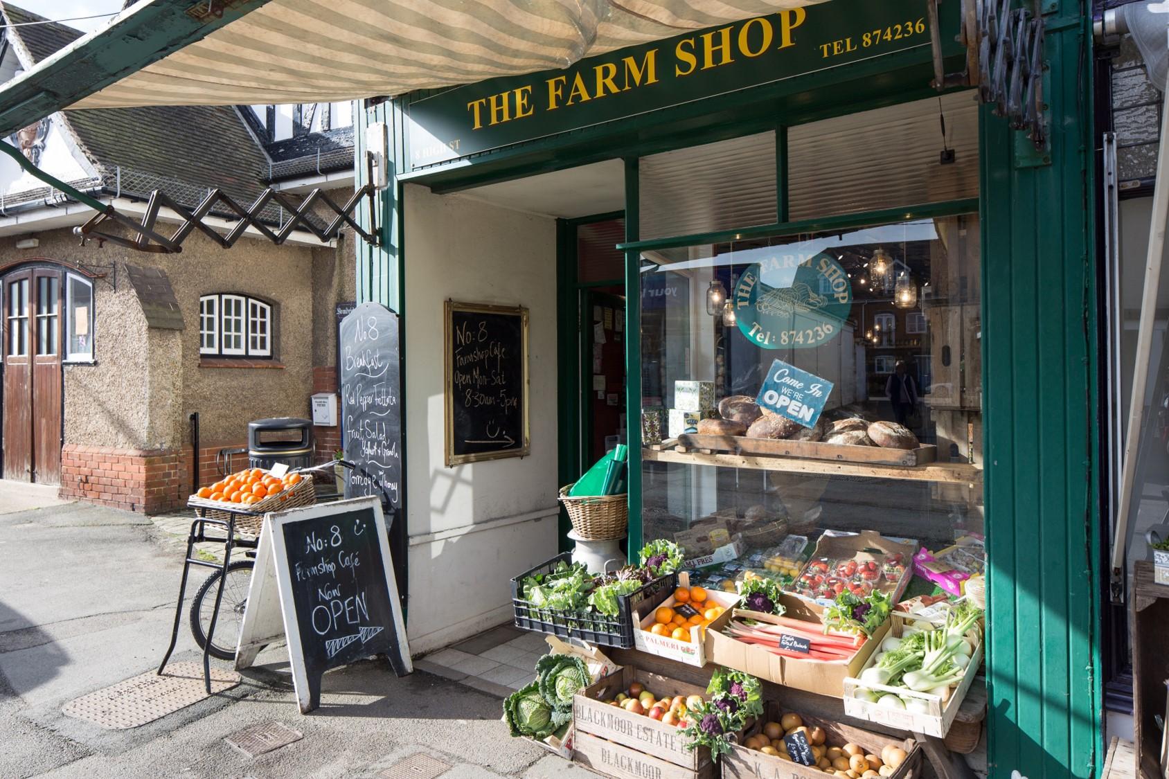 No 8 Cafe and farm shop